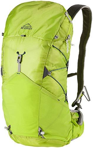McKINLEY Kinetic Trekkingrücksack, Grün/Lime/Blau, 54 x 23 x 15 cm