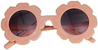 Greetuny - 1X 0-4 año Gafas infantiles divertidas Lindo Flor Gafas de sol infantiles niña Playa Creativo Regalo