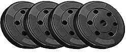 Aurion 20 Kg Vinyl Plates For Home Gym,AURION