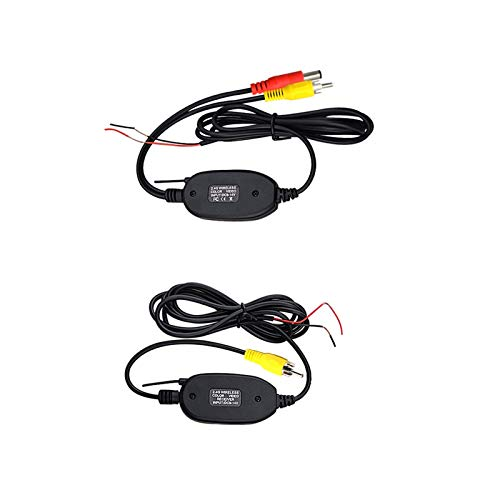 LIULIANG MeiKeL 3 in 1 Car Night Vision Rear View Camera Radar Parking Sensor 170 Degree IP67 Waterproof with 2.4G Wireless Transmitter Receiver (Color Name : 2.4, Voltage : 12V)