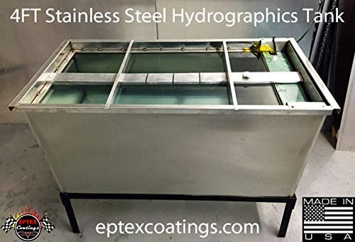 Hydrographics unisex 4ft Stainless Steel Tank Transfer Package Water Tulsa Mall -