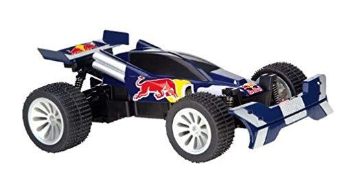 Carrera RC–160107–Radio Bestellung–Fahrzeug Miniatur–Red Bull Buggy–Blau