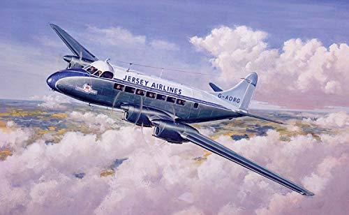Airfix A03001V 1/72 De Havilland Heron Mk.II Modellbausatz, Sortiert, 1: 72 Scale