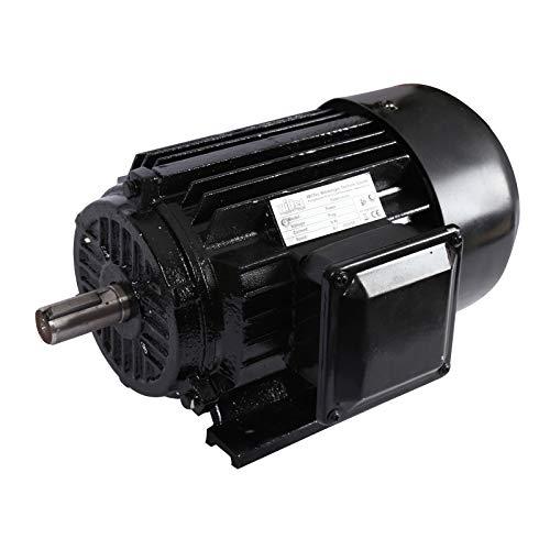 Motor eléctrico trifásico 400V 2-polos 1,5kW Motor asíncrono rotativo 2CV Bobinado alambre Aluminio