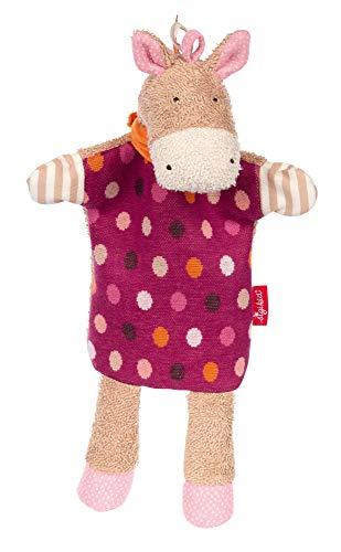 SIGIKID Mädchen und Jungen, Schnuffeltuch-Handpuppe Hoppe Dot, Babyspielzeug, empfohlen ab 0 Monaten, Lila/beige, 39251