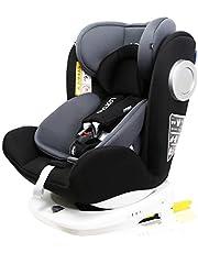 LETTAS チャイルドシート 回転式 新生児~12歳頃(0~36kg) ISOFIX対応 シートベルト固定 一年保証