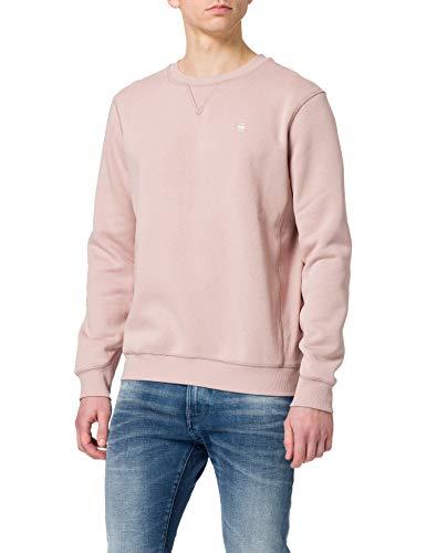 G-STAR RAW Herren Premium Core Sweatshirt, Rosa, L