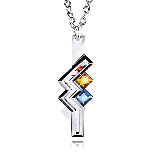 Koehope Final Fantasy XIII 13 Blitz Halskette Anhänger Kette Anime Cosplay Sammlerstück