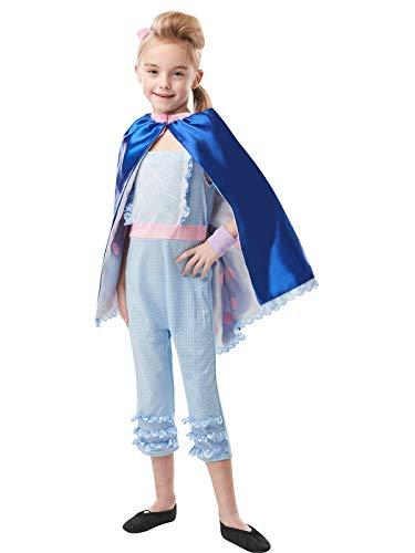 Rubies Disfraz oficial de Disney Toy Story 4, Bo Peep Girls Deluxe, tamaño mediano para niños – Edad 5 – 6 años
