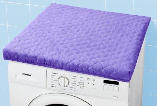 Waschmaschinen-Überzug lila