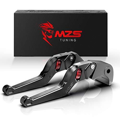 MZS nero frizione freno corto Leve per Honda CB600F 2007-2013,CBR600F 2011-2013,CBF600//SA 2010-2013