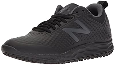 New Balance Women's Fresh Foam Slip Resistant 806 V1 Industrial Shoe, Black, 7 M US