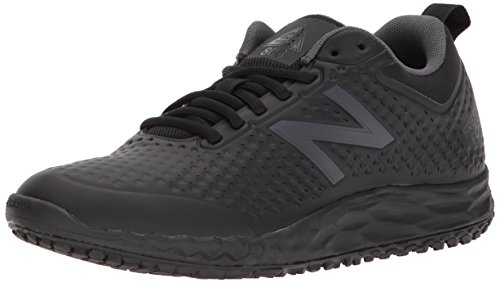 New Balance womens Fresh Foam Slip Resistant 806 V1 Industrial Shoe, Black, 5.5 US
