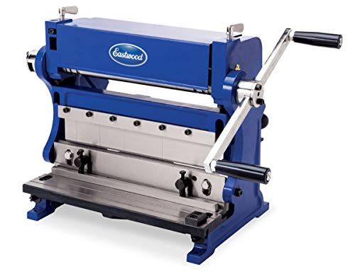 Eastwood 12 in. 3 in 1 Brake Shear Roll Combinations Sheet Metal Brake and Slip Roll Machine