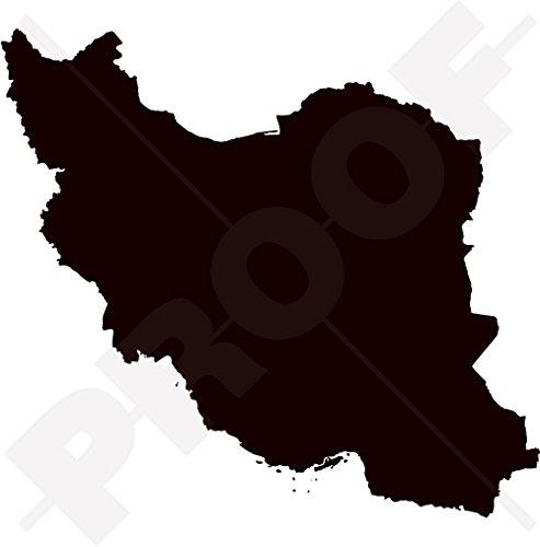 IRAN Islamic Republic Kaart-vorm, IRANIAN Silhouette, Perzië, Perzische 5