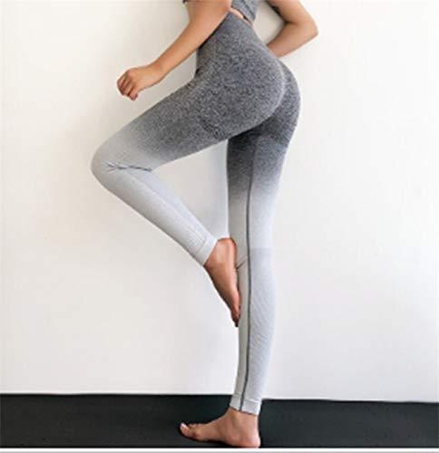 Pantalones deportivos para correr para mujer, mallas ajustadas para gimnasio, mallas sin costuras para mujer, para Fitness, pantalones deportivos, pantalones de entrenamiento elásticos para Yoga
