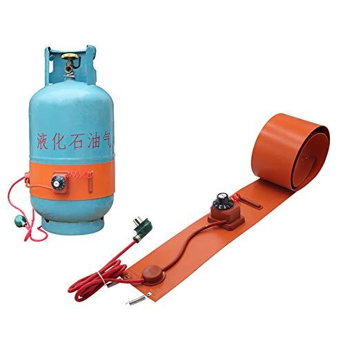 Home Cilindro de Acero del Tanque de Gas licuado Tanque de Gas -Cinturón Calefactor de Caucho de Silicona Aislante - 5KG / 10KG / 15KG 10KG Liquefied Petroleum Gas