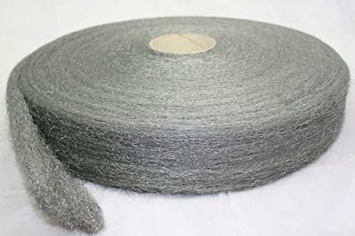 Schalldämpferwolle 1kg 800°C Auspuffwolle Edelstahlwolle Schleifwolle