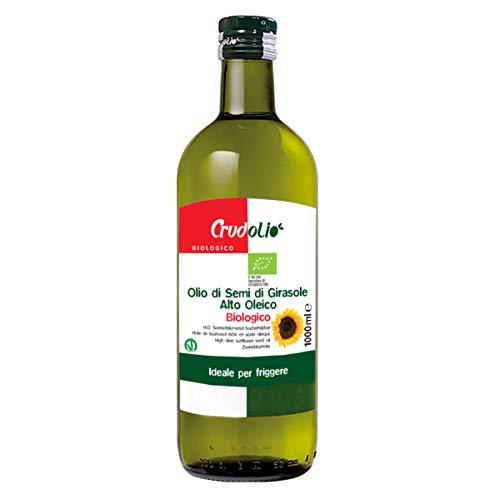 Crudolio - Olio di semi di Girasole Alto Oleico Bio 1 litro