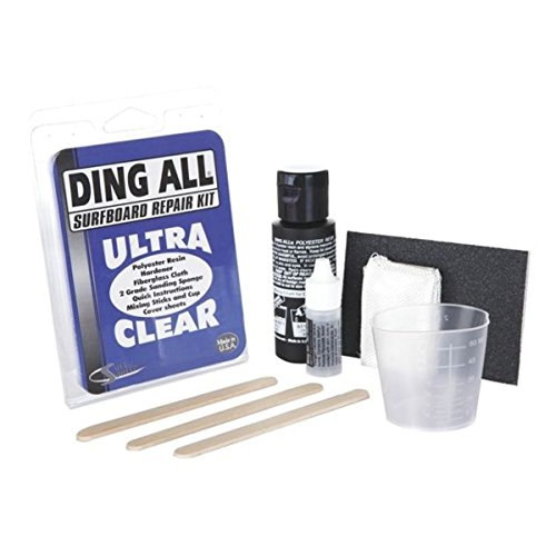 Ding All Standard - Kit de reparación de tablas de surf, transparente