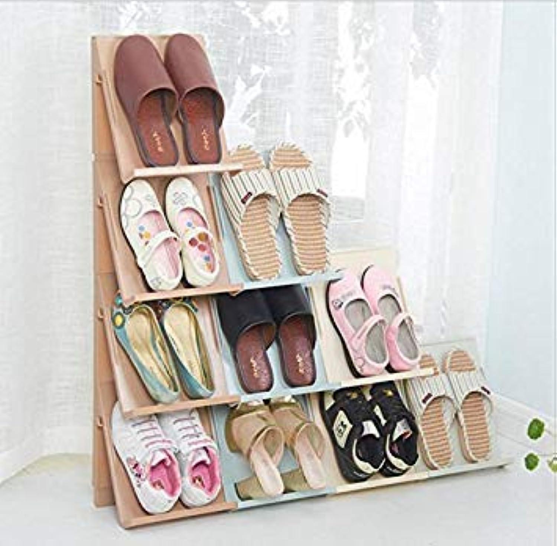 Generic Beige High-Grade Creative shoes rackStorage Boxes