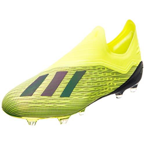 adidas X 18+ FG, Zapatillas de Fútbol Hombre, Amarillo (Gelb/Schwarz Gelb/Schwarz), 45 1/3 EU