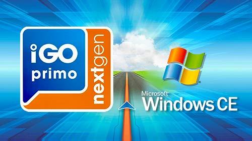 Scheda MicroSD con software di navigazione GPS per Windows CE iGO Primo NextGen 3D Mappe EUR/RUS/TUR/per PKW/camion, camper, 3 anni...