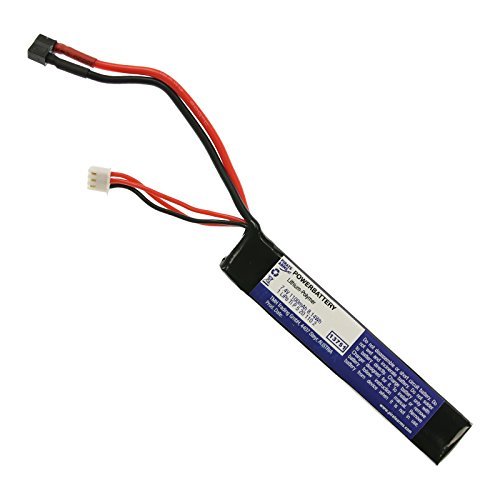 OpTacs Pirate Arms Softair Akku Li-Po 7,4V 1100 mAh 20C Tube Type Mini T-Plug