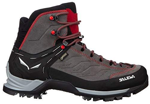 Salewa Mountain Trainer Mid GTX (Halbhoher Bergschuh Herren), Groesse 9 UK (43), Farbe-Salewa:Charcoal/Papavero