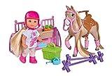 Simba - 105733274002 - Evi Love - Poupée Enfant - Holiday Equitation + Accessoires