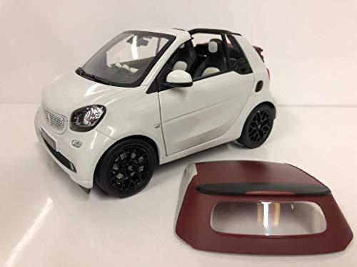 Smart fortwo Cabrio (A453), weiss, 0, Modellauto, Fertigmodell, I-Norev 1:18