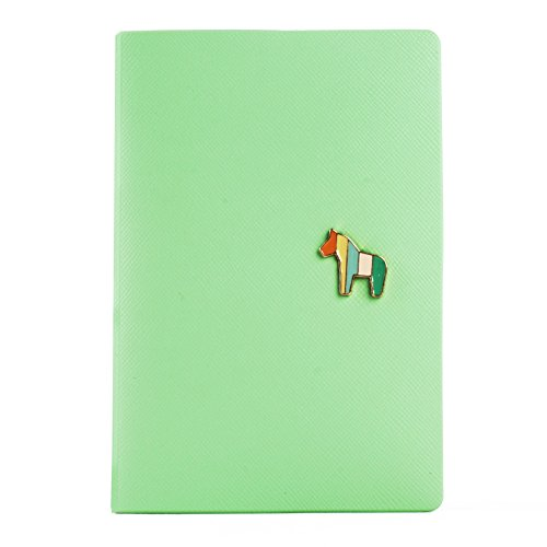 It's In The Bag Travel Journey Passport ID Card Holder Case Cover Purse and Passport case (Little Horse Green)