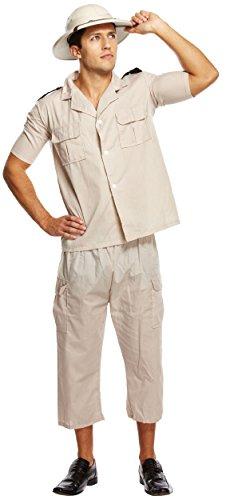 HENBRANDT Costume da Safari Explorer per Adulti