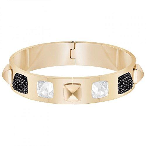 Swarovski Damen-Armreif Glance Vergoldet Kristall weiß - 5272074
