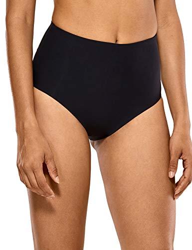 CRZ YOGA Bragas de Bikini de Cintura Alta Bañador Braguitas para Mujeres