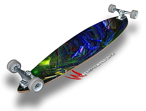"""Busy - Decal Style Vinyl Wrap Skin fits Longboard Skateboards up to 10""""x42"""" (LONGBOARD NOT INCLUDED)"""