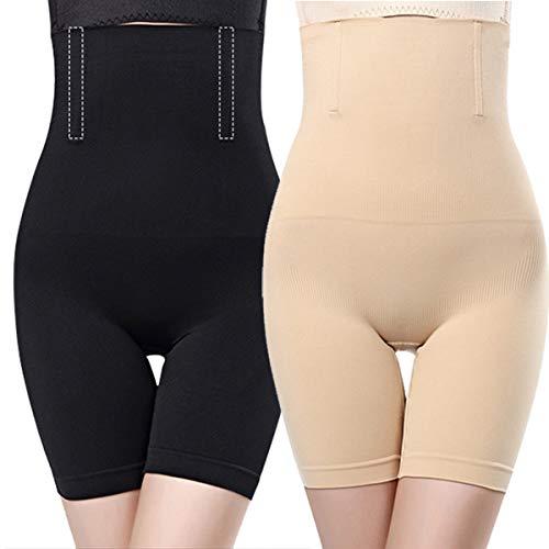O³ Miederhose Bauch Weg stark formend // Größe XS – 4XL Schwarz oder Nude // Body Shapewear // Damen Unterwäsche (Nude XL/XXL)