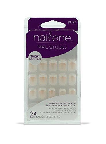 Nailene Nail Studio French Nägel Classic kurz