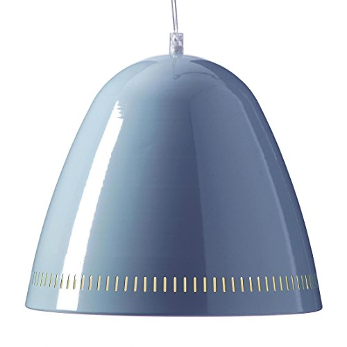 Grande Lampe Suspension Bleu Fumée Superliving
