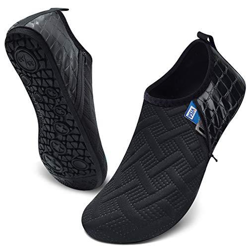 JIASUQI Summer Outdoor Beach Swim Aqua Water Shoes Socks