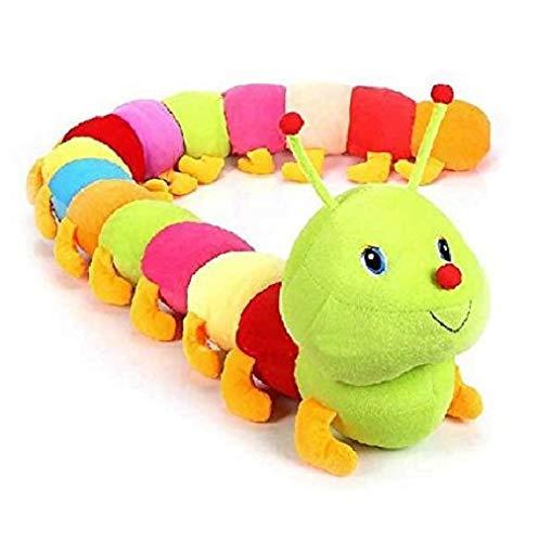 Zuku Small Caterpillar Soft Toys For Kids Girls Teddy Bear.