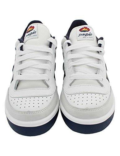 Zapatillas deportivas J´hayber hombre color azul marino y blanco modelo new olimpo Talla 42