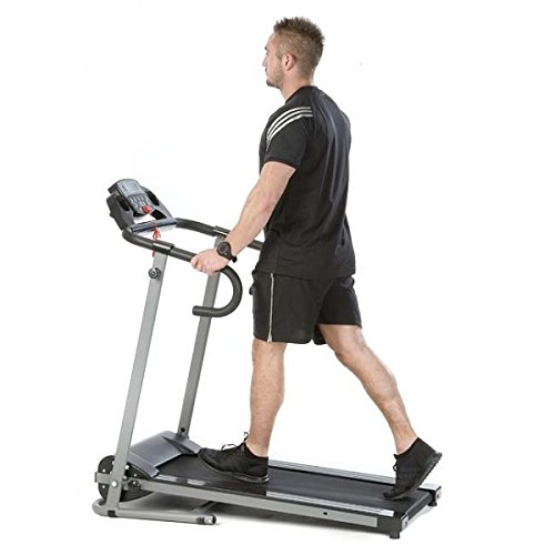 The Home Garden Store Folding Treadmill Fitness Exercise Running Machine Motorised Electric Power