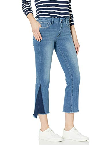 Madison Denim Women's Bleeker Crop Flare Jean Shadow Dorset 25
