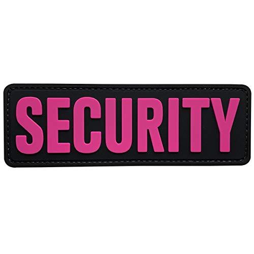 uuKen Security Officer Tactical PVC Morale Patch mit Hakenverschluss Rückseite für Jacke oder Verstärkungsplatte Carrier oder Uniformen Weste und taktische Kleidung Medium 6