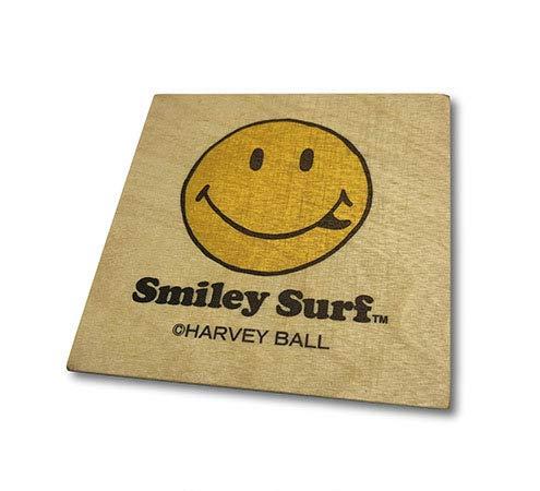 Smiley Surf スマイリーサーフ コースター 木 ウッド 手作り コップ敷き コップ受け グラスマット 2020年 品番 WOOD-016