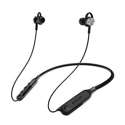 AUSDOM AH01 Wireless Active Noise Cancelling Earphones, Bluetooth 4.0...
