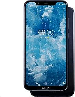 Nokia 8.1 Dual SIM - 64GB, 4GB RAM, 4G LTE, Blue Silver