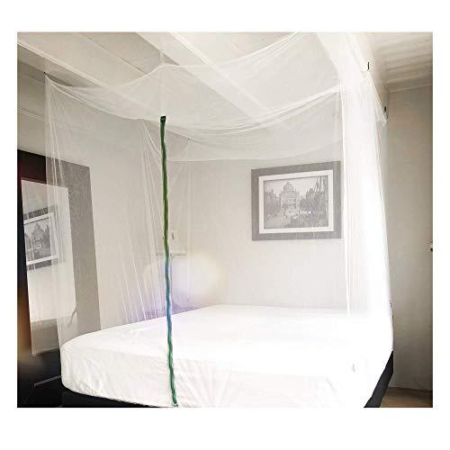 GlisGlis Green Cube – XL Moskitonetz in Würfelform, inkl. Gummizug im Boden & Eingang mit Reißverschluss | Mückennetz, Doppelbett