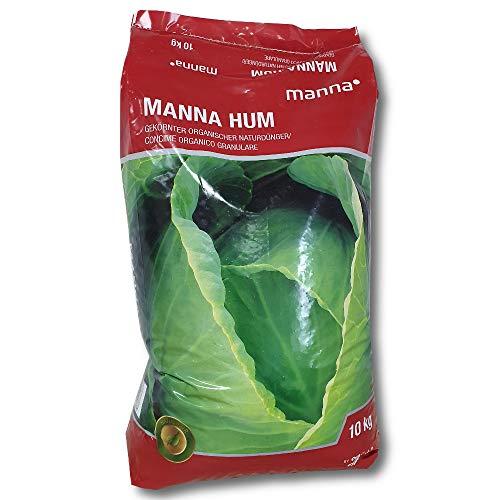 Manna® Hum Rinderdung 10 kg organischer NP-Dünger humusbildend bodenverbessernd